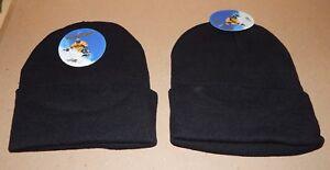Beanie Knit Ski Caps Advance Gear Skull Hats Solid Colors Men Women's 2ea 138J