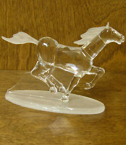 """CRYSTAL WORLD #1029 MUSTANG, 3.25"""" x 5.5"""" NEW From Retail Store"""