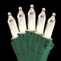 National Tree Company 50-Light Ready Lit Clear Bulb String Christmas Light Set
