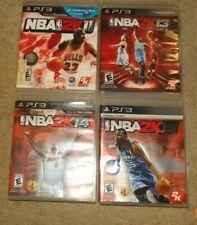 (PS3) NBA 2K11, 2K13, 2K14 & 2K15 - 4 GAMES - VG condition!!