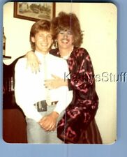 Gay Interest Photo R+8893 Man In Dress Posed Hugging Other