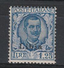 FRANCOBOLLI - 1929 REGNO LIBIA L.1,25 FLOREALE MLH Z/8555