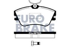 Bremsbelagsatz Scheibenbremse - Eurobrake 5502224731