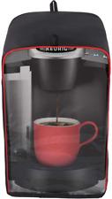 Yelaiyehao Single Serve Coffee Makers Cover For Keurig Coffee Maker (Black-Visib