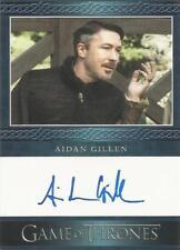 """Game of Thrones Season 5 - Aidan Gillen """"Littlefinger"""" Autograph Card"""