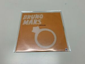 Bruno Mars – Marry You - 1 Track Promo CDr Single © 2011 (variation)