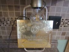 1985 Budweiser King Of Beers gold lighted sign