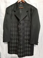 Falcone mens coat 4 buttons style size 41R black