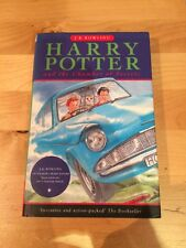 Harry Potter and the Chamber of Secrets Bloomsbury 1st Edition, 4th Print Book