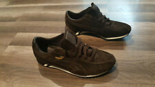 Puma Sprint suede style, men's Size 9 brown Sneakers.