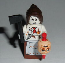 HALLOWEEN #25 Lego Female Demonic-Possessed Chef w/acc's Custom NEW