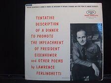 Lawrence Ferlinghetti - Tentative Description of a Dinner... - Fantasy 7004 HF