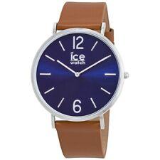 ICE WATCH 001520 TANNER OROLOGIO UOMO PELLE MARRONE BLU LISTINO 99€ SOTTOCOSTO