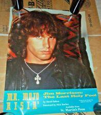 Poster/Vintage  Jim Morrison  The Last Holy Fool Promo 1991 St Martins Press