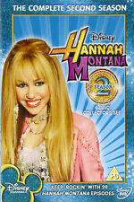 HANNAH MONTANA SEASON 2 COMPLETE SECOND SEASON BRAND NEW & SEALED UK REGION2 DVD