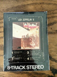 Led Zeppelin - II -  8 Track Tape -  Used Rock - Tested