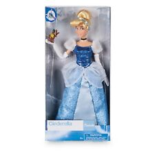 "NEW DISNEY STORE PRINCESS CINDERELLA DOLL 11"" TALL - BOXED"