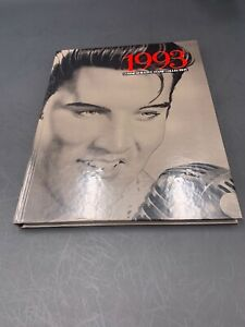 1993 Commemorative Stamp Collection Book Elvis on Cover Hardback  No Stamps