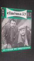 Revista Mensual Dibujada Cinema N º 21SEPTEMBRE-OCTOBRE 1957 Buen Estado