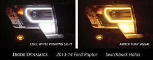 2013 2014 F-150 Raptor Switchback LED Halos Diode Dynamics - Authorized Dealer
