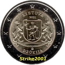 NEW !!! 2 EURO COMMEMORATIVO LITUANIA 2021 Regioni Lituania Dzukija NEW !!!