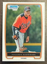 2012 Bowman Chrome #BCP200 Eduardo Rodriguez Baltimore Orioles 1st Bowman Card
