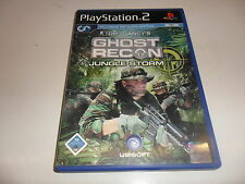 PlayStation 2  PS 2  Tom Clancy's Ghost Recon - Jungle Storm