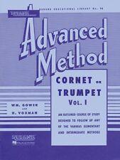 Rubank Advanced Method Cornet or Trumpet Vol. 1 Advanced Band Method 004470330