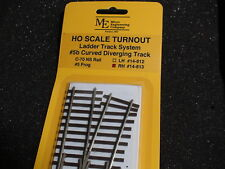 Micro- Engineering #14-813 Ho Ladder Track System Turnout Rh #5b Code 70