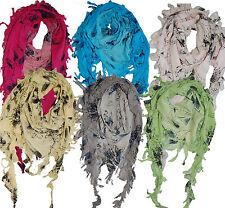 Cotton Wrap Headwrap Chemo Turban Triangle Head Scarf Prewashed Floral Leaf