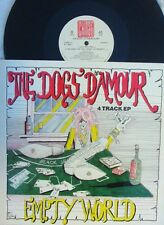 Dogs D'Amour ORIG UK PS 12 EP Empty world EX '90 China CHINX27 Glam Metal