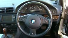 BMW 5 SERIES BLACK STEERING WHEEL, WITH AUDIO CONTROL, E39 05/96-10/03