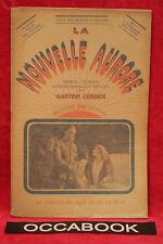 La Nouvelle Aurore - Le Combat du Jour et de la Nuit - Gaston Leroux - 1919