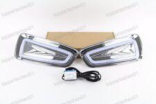 LED DRL Fog Driving Daylight Daytime Running Lamp For Ford Raptor F150 2009-2014