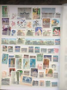 Canada Selection of used stamps 450+ stamps