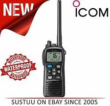 Icom IC-M73 EURO Professional VHF Marine Handheld Radio Transceiver│IPX8│6W RF