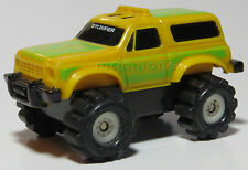 LOOSE McDonald's 1986 Stomper Mini 4x4 CHEVY BLAZER YELLOW Schaper CHEVROLET