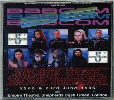 Babylon 5 Babcom '96 Convention 9 CD Complete Set London 1996