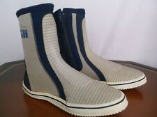 DOUGLAS - Gill Boating Sail Boat Boots Gray & BLue Mens Sz 9 / 8 UK