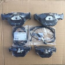 BMW X5 E53 2000-2006 3.0i~3.0D~4.4i FRONT & REAR BRAKE DISC PADS WITH SENSORS