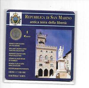 1 EURO 2004 REPUBBLICA DI SAN MARINO ANTICA TERRA DELLA LIBERTA