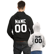Personalized Hooded Sweatshirts Father Son Matching Hoodies Custom Name Number