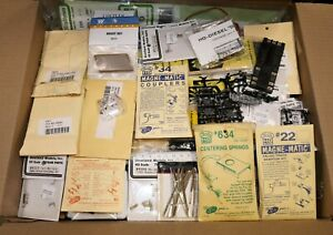 Large Lot of  HO Scale Model Railroad and Train Parts