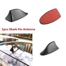 High Quality Carbon Fiber Car SUV Roof Shark Fin Antenna Cover Decorate Trim ABS