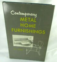 Contemporary Metal Home Furnishings MCM Lux/Towers 1957 1st Ed DJ Illustrated