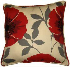 Floral Polycoton Housse Coussin Taille 45.7cmx45.7cm 45cm x 45cm