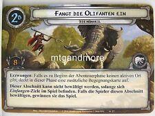 Lord of the Rings LCG - #027 Fangt die Olifanten ein - Die Mumakil