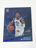 2019-20 Donruss Optic My House Purple #16 Donovan Mitchell Utah Jazz