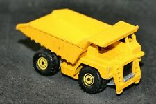 Vintage Hot Wheels Yellow Construction Dump Truck 1979 Malaysia