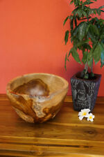teck bois de Racine CACHE-POT bois casserole décoration accessoires maison